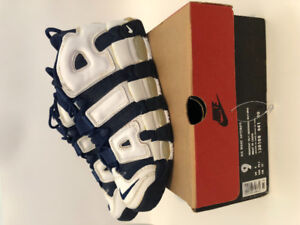 1996 OG NIKE AIR MORE UPTEMPO OLYMPIC Size 9