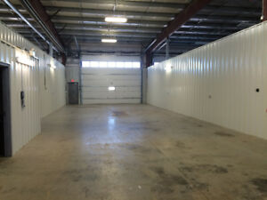 Large Private Heated Bays Available immediately