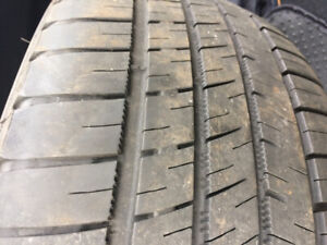 4 Michelin Summer tires for sale. Driven  1 year. 205/50/R17