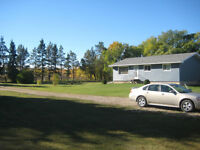 3+1 Bdrm House & 5 Acres long-term Rental or Rent-to-Own