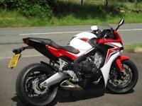 HONDA CBR 650 F ABS, 2015/15. JUST 2,964 MILES.