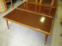 FAPO: 70s Retro Matching Wooden Coffee Tables