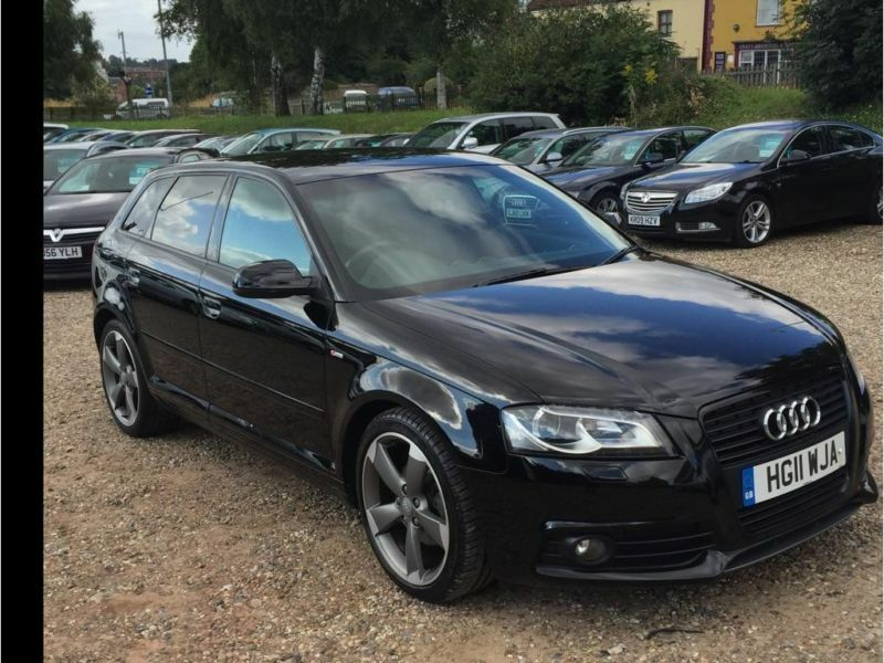 2011 audi a3 2 0 tdi black edition sportback 5dr in norwich norfolk gumtree. Black Bedroom Furniture Sets. Home Design Ideas
