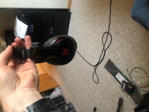 Beats by Dre studio over ear head phones