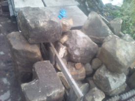 Buff building stone &large buff corner stones large quantity can deliv