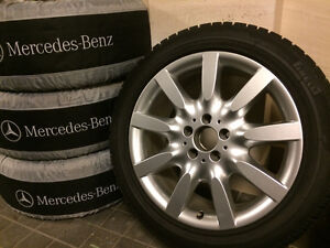 255/45 R18 original Mercedes mags (winter package)