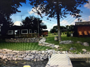 2 bedroom waterfront cottage for sale