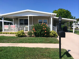 LARGE MOBILE FOR SALE OR RENT IN POMPANO BEACH FL. 55+