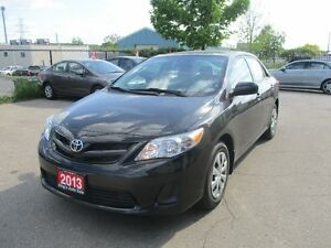 2013 Toyota Corolla ONLY 56,000 KM