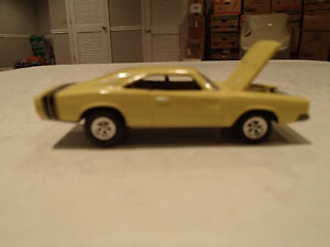 RARE Loose Light Gold 1968 '68 DODGE CHARGER R/T with Real rubbe