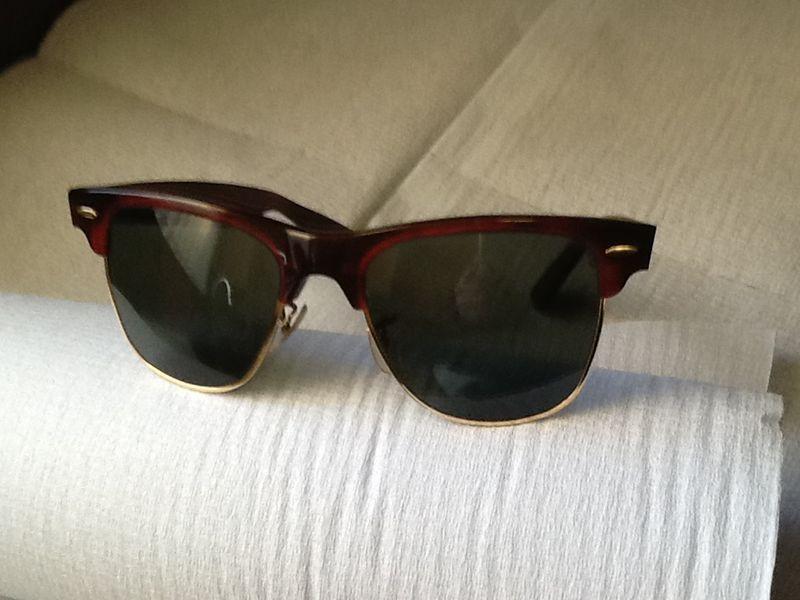 d59c38d2db ... coupon code for ray ban wayfarer max bl vintage gold frame sunglasses  mint 62f4b 4e620 ...