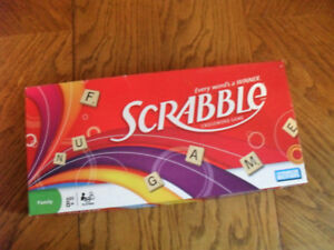 Parker Brothers Scrabble Game - Complete