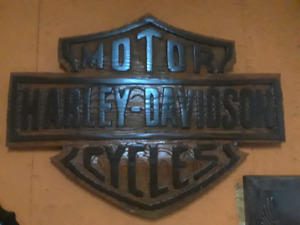 Large Harley sign