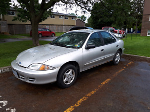 2001 Chevy Cavalier currently not running but capable