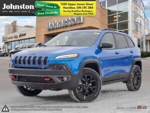 2018 Jeep Cherokee Trailhawk 4x4  - Leather Seats  - $102.55 /Wk