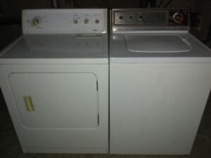 Washer and Dryer (Electric) $200