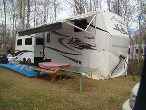 2009 Alpenlite Ridgeway 5th wheel - 34 foot w/ 3 slides