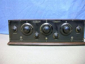 RADIO FROM THE EARLY 1920's