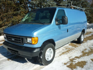 2006 Ford E-250 Cargo Van ROOF RACK/SHELVING/PARTITION