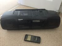 Panasonic RX-DT5 Getto blaster / boombox with remote