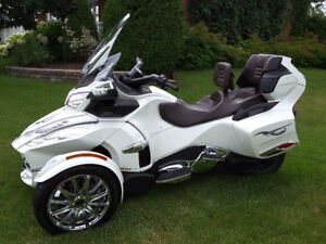 Can-Am Spyder RT Limited 2013 - Blanc