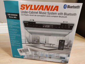 Under-Cabinet Music System with Bluetooth