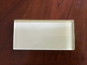 Glass Subway Tile - 3 x 6 inch - Taupe - 32 sq/ft