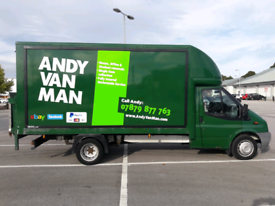 MAN AND VAN - HOUSE REMOVALS CLEARANCES - SINGLE ITEM COLLECTION
