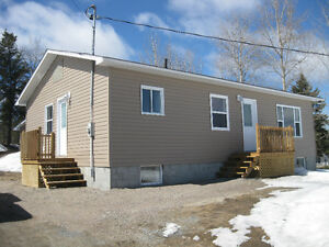 FULLY RENOVATED HOUSE AND GARAGE - KIRKLAND LAKE AREA