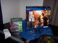PS3 500Gb. 2 Month Old & 10 month Warranty Left, 10 Games $290