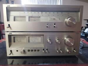 JVC JA-S22 Amplificateur stéréo  40wpc et Récepteur Am/Fm  JT-V2