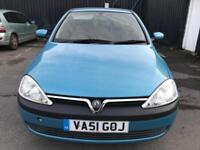 2002 Vauxhall Corsa 1.2 i 16v Comfort Easytronic 3dr