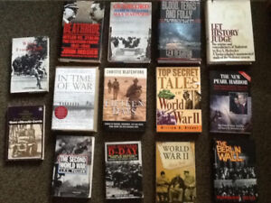 14 War books $40 for all.