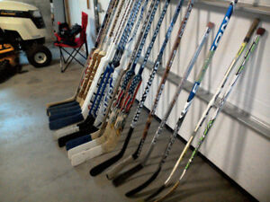 Right handed goalie sticks