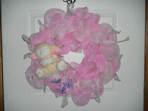 It's A Girl/Boy Wreath