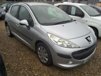 2008 Peugeot 207 1.4 S 86K 5Dr Low Ins Ideal First Car in Silver