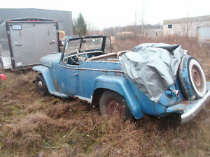 1949 Willys Jeepster Cambridge Kitchener Area image 3