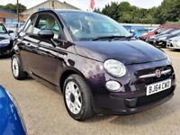 Fiat 500 POP 1.2 69bhp Low mileage £30Tax Warranty delivery available Px welcome