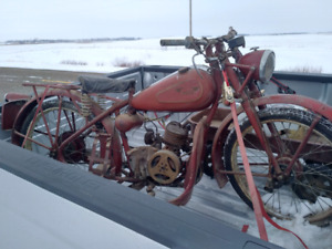 Wanted.  Old motorcycles parts projects pre 1970. Hd norton etc.