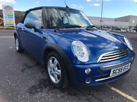 Mini convertible trade in to clear low miles
