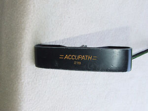 Accupath 219 Putter (LH) - LIKE NEW - $20.00