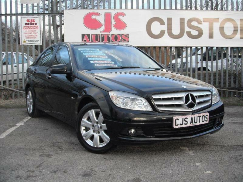 2010 mercedes benz c class 2 1 c200 cdi blueefficiency se executive pack 4dr in kingswood. Black Bedroom Furniture Sets. Home Design Ideas