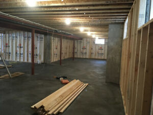 Basement Framing / Carpentry