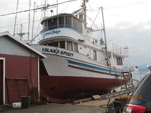 Ex-Seine charter vessel available for purchase Yukon image 2