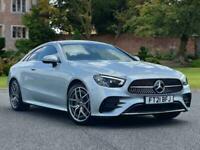 2021 Mercedes-Benz E CLASS DIESEL COUPE E220d AMG Line Premium 2dr 9G-Tronic Aut