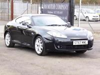 Hyundai Coupe 2.0 SIII SE, Black, 2007., 6 Month AA Warranty, 1 Years Mot