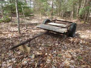 Very Old Utility Trailer