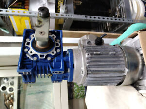1/3 hp electric motor with gear reduction head