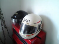 2 motorcycle helmets for quick sale