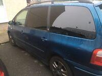 Ford galaxy tdi 7 seater full respray years mot new turbo